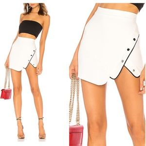 NWT H:ours milla skirt ivory mini large